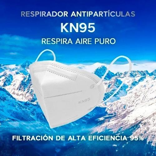 Mascarilla Respirador Kn95 / N95 Certificada Caja De 10
