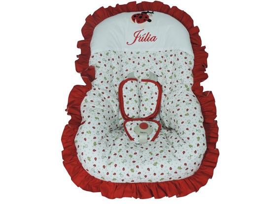 Capa Para Bebê Conforto Joaninha