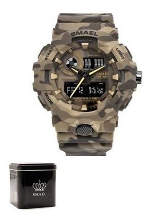 Relógio Smael Masculino Esportivo Original + Caixinha Barato