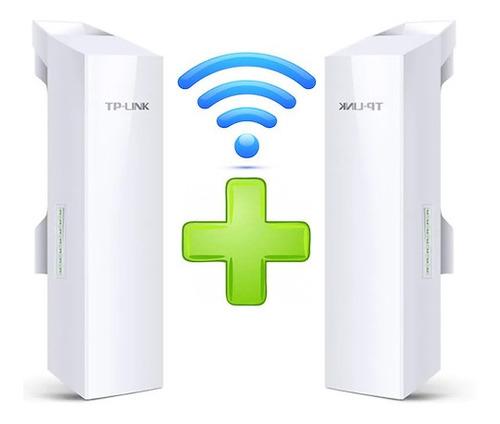 Enlace Internet Tp-link Cpe510 Punto A Punto 15km 5.8ghz