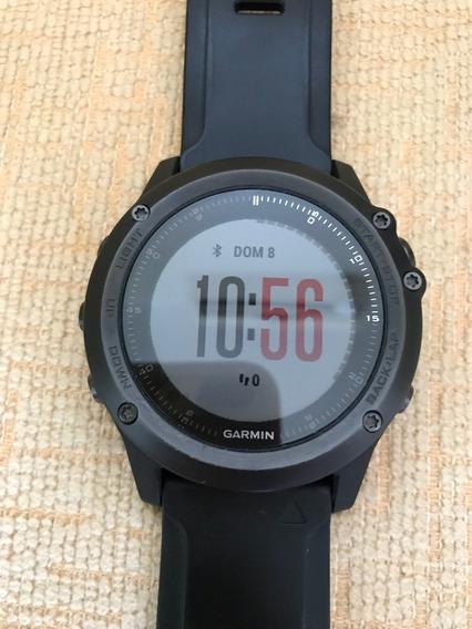 Relógio Garmin Fênix 3hr Safira