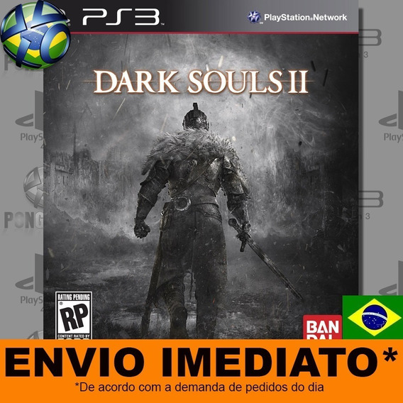 Jogo Ps3 Dark Souls Ii 2 Psn Play 3 Legendas Português Pt Br