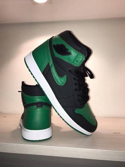 Air Jordan 1 Pine Green 45br/12.5us