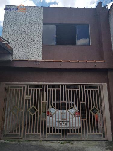 Casa Com 4 Dormitórios À Venda, 147 M² - Vila Ana - Mauá/sp - Ca3638