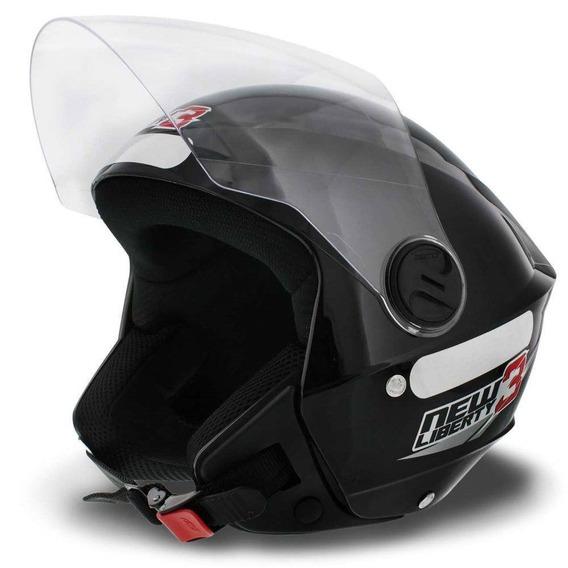 Capacete Aberto Moto Liberty 3 Super Oferta