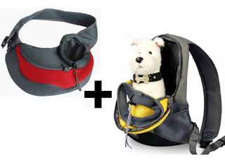 2 Mochila Porta Perros Mochilas Para Transportar Perros Gato
