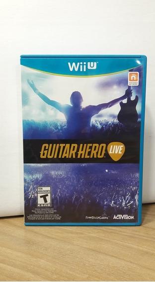 Guitar Hero Live Wii U Seminovo