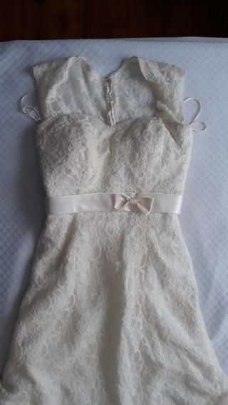 Vendo Vestido De Noiva P 38/40