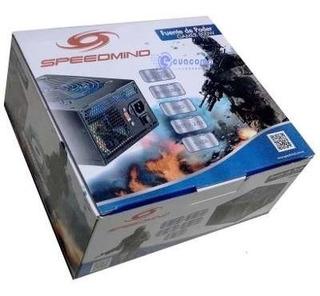 Fuente De Poder Speedmind Gamer 800w 40a Pci-e 6,8,20+4