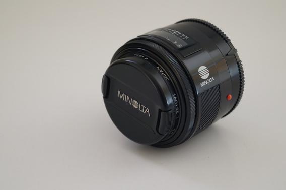Lente Minolta 50mm F1.7 A-mount