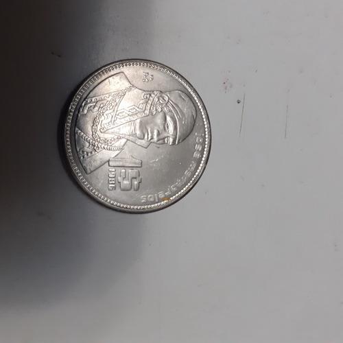 Imagen 1 de 2 de Moneda De 1 Peso Año 1986 Sin Circular
