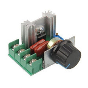 Dimmer Controlador De Velocidade Motor Ac, 110/220vac