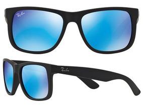 54457317f Ray Ban Lente Azul Claro Barato De Sol - Óculos no Mercado Livre Brasil