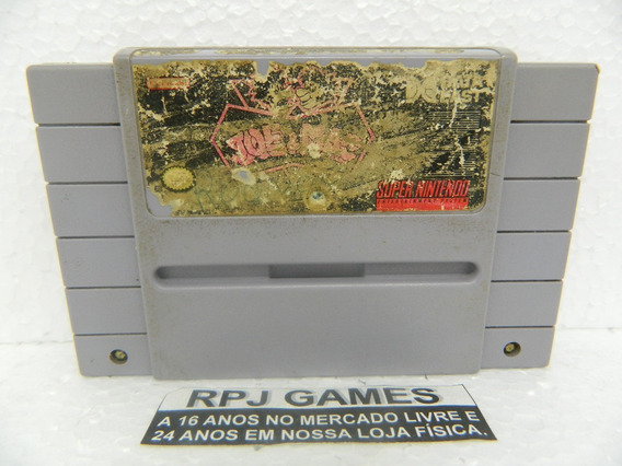 Joe & Mac Original Para Snes Super Nintendo - Loja Rj