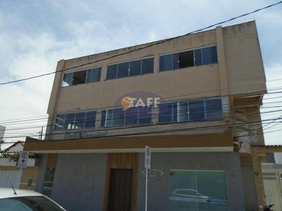 Sala Comercial Para Aluguel Fixo, 221 M² Por R$ 2.100/mês - Bairro Parque Central - Cabo Frio/rj - Sa0030