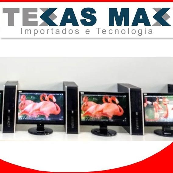 01 Kit Cpu Hp 4gb /hd 160+ Monitor Ss 17 Polegadas
