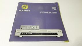 Manual De Instruções Dvd Player Gradiente D 15/3