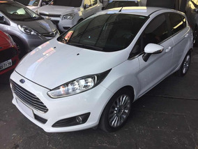 Ford Fiesta Hatch Titanium 1.6 Flex Powershift 2014 Branco