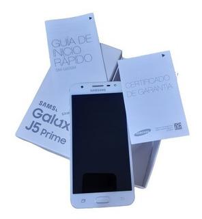 Samsung Galaxi J5 Prime, Dorado, Lector De Huellas-poco Uso