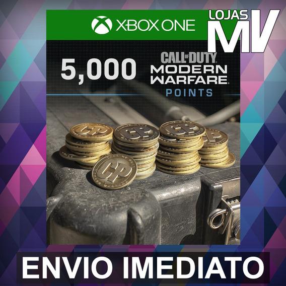 5000 Coins Call Of Duty Modern Warfare 25 Dígitos Xbox One