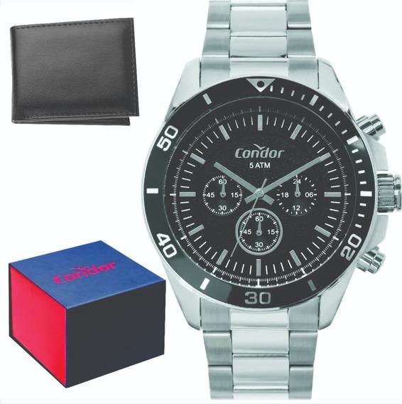 Relógio Condor Masculino Original C/garantia Nf Covd54bi/3p
