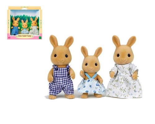 Familia De Conejos Sylvanian Families