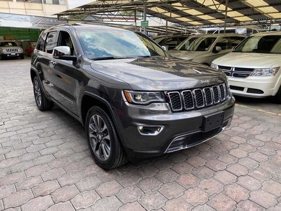 Jeep Grand Cherokee Limited Lujo Piel Quemacocos V6 2018