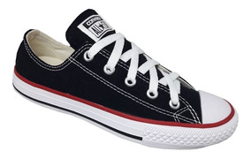 Tênis Converse All Star Tradicional Adulto Lona - Preto