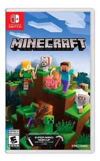 Minecraft Nintendo Switch / Nuevo / Sellado / 100% Original