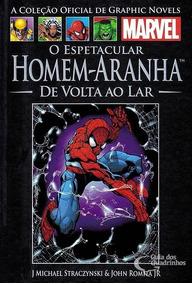 Livro Oficial De Graphic Novels - Homem Aranha Nº 21