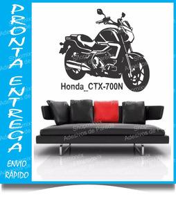Adesivo De Parede Moto Honda Ctx 700n 128x96 Pronta Entrega