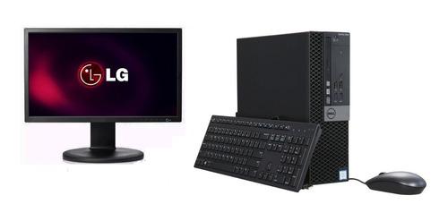 Monitor LG 20p + Cpu Dell Optiplex 3040 Core I5 6g 4gb 500gb