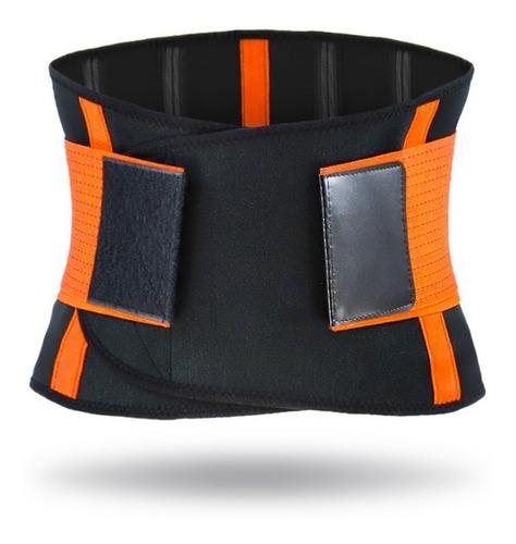 Cinturón Elástico De Soporte Lumbar Trasero Faja