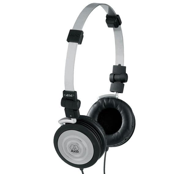 Headphone Akg Harman K404 Fone Ouvido Profissional Bolsa