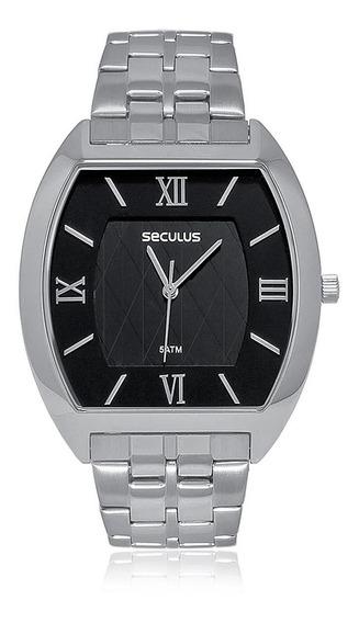 Relógio Masculino Seculus Analógico 23508g0svna1 Em Aço