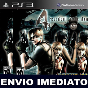 Rresident Evil 4 Hd Psn Ps3 Midia Digital Jogo Play 3