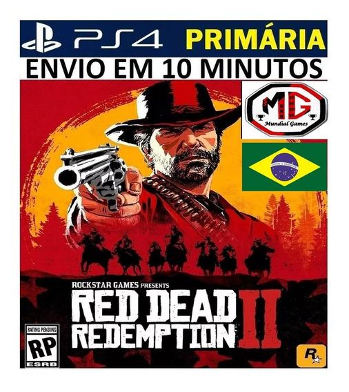 Red Dead Redemption 2 Ps4 - Original 1 - Portugues