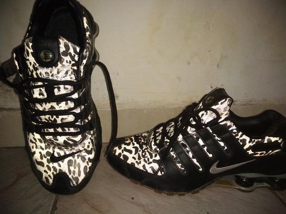 Tênis Nike Shox Original E Raro Com Olho De Gato 38 39 40