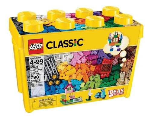 Lego Classic Caixa Grande Peças Criativas 790 Peças 10698