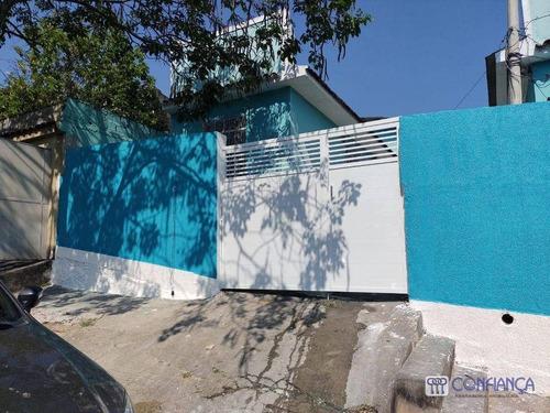 Imagem 1 de 20 de Casa Com 1 Dormitório Para Alugar, 55 M² Por R$ 450,00/mês - Campo Grande - Rio De Janeiro/rj - Ca1121