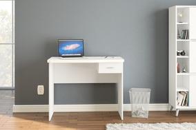Mesa Escrivaninha Resende Branca Politorno