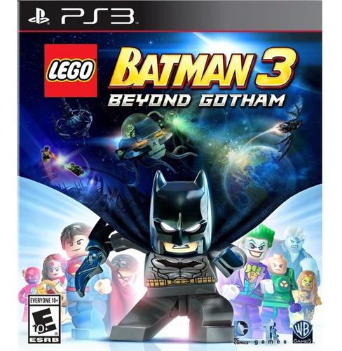 Lego Batman 3 Beyond Gotham Ps3 Mídia Física