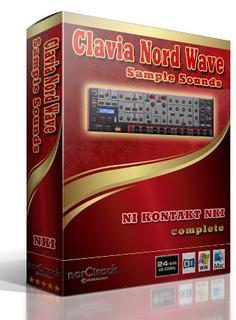 Clavia Nord Wave Complete - Librería Sintetizador Pc Mac