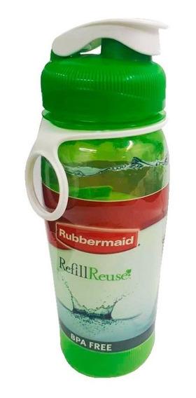 Botella Deportiva Agua Rubbermaid 950 Ml Refill Reuse