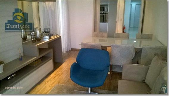 Apartamento Com 3 Dormitórios À Venda, 93 M² Por R$ 559.000,00 - Campestre - Santo André/sp - Ap2020