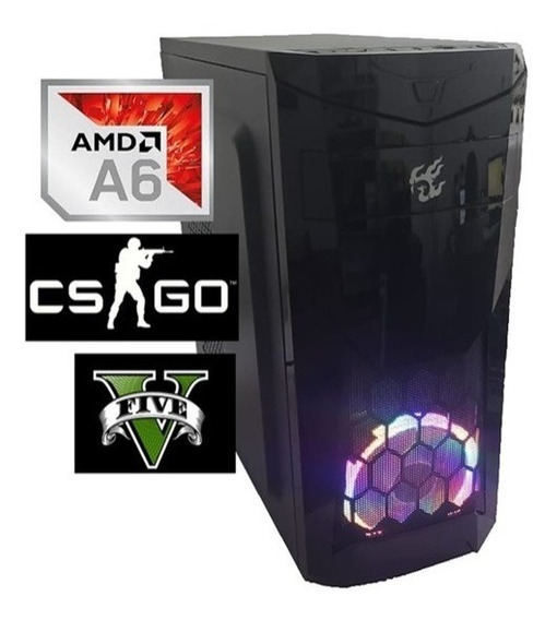 Cpu Gamer Barata Amd A6 7480 4gb Ssd 120gb Video Radeon R5