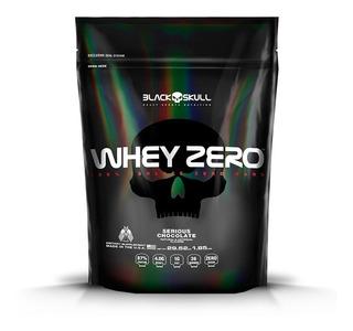 Whey Zero Refil 2kg - Black Skull