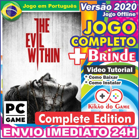 The Evil Within Complete Edition Pc Digital Br + Brinde