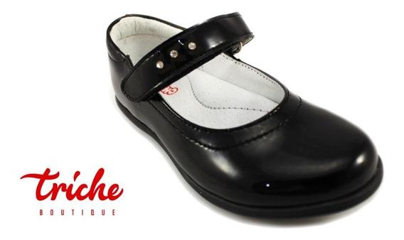 Calzado Zapato Niña Chabelo Ngo 44939 Choclo Charol Escolar
