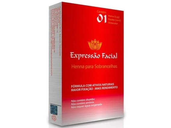 Kit Henna Sobrancelhas 2,5g Expressão Facial Nota Fiscal